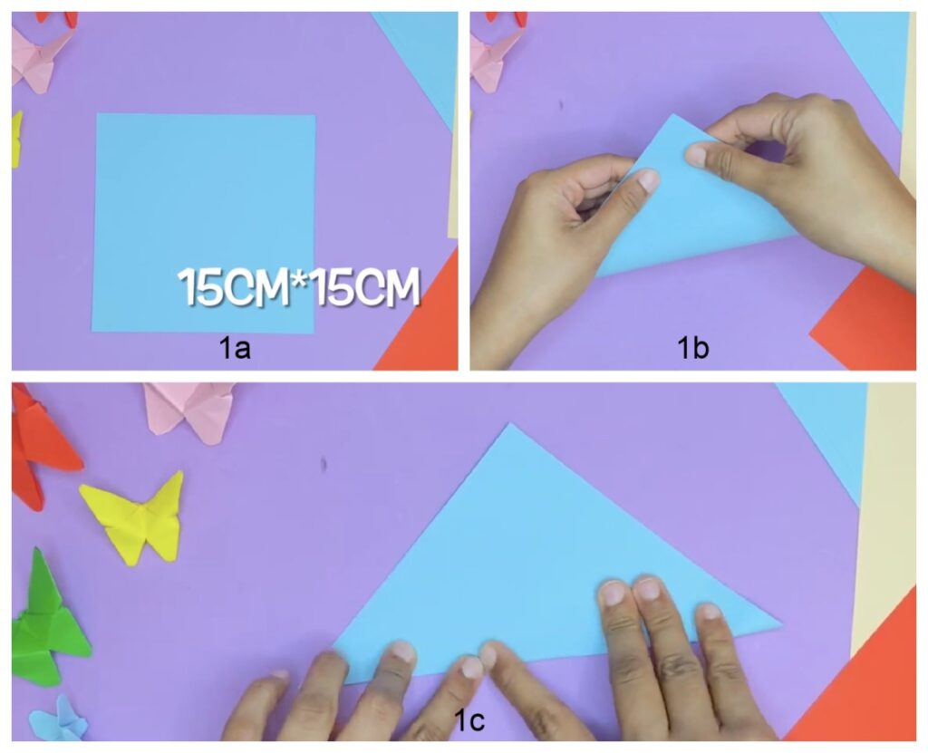 how to make a paper butterfly (step-by-step)