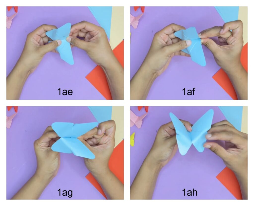 how to fold a paper butterfly easily