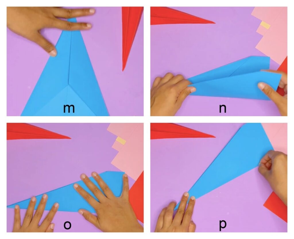 how to make an airplane out of paper