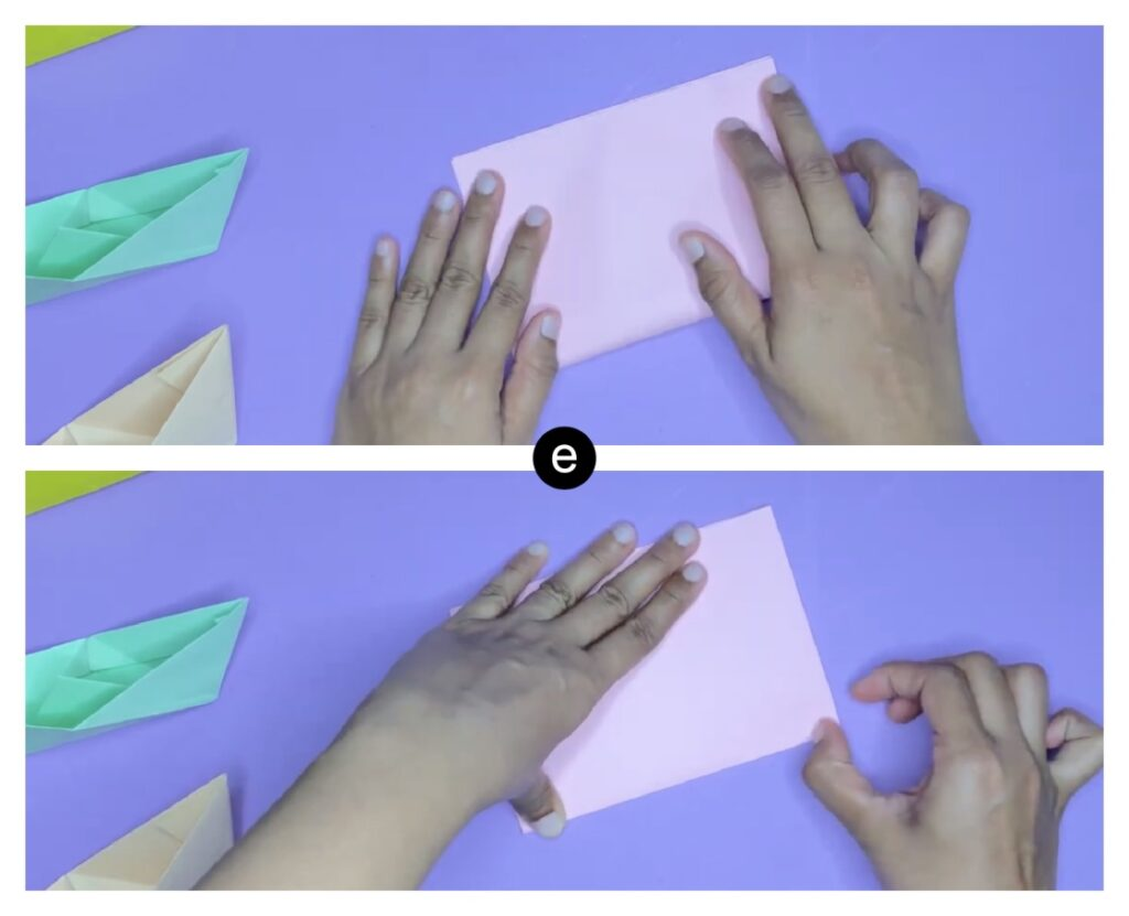 how to make a paper boat step-by-step