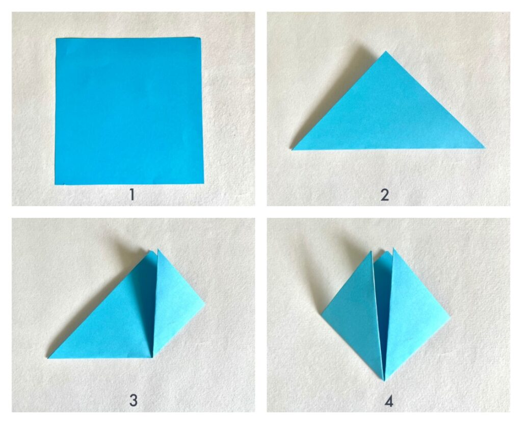 how to make a simple corner bookmark using paper step-by-step