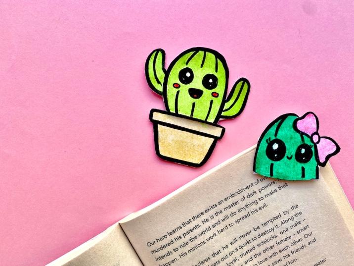 How to make a paper corner bookmark (5 cute kawaii bookmark tutorials)
