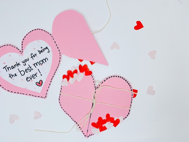 Easy handmade Mother's Day card idea for kids