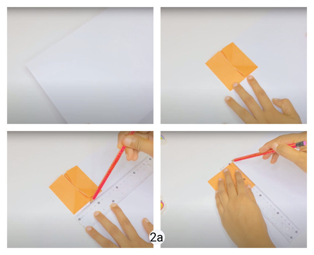 How to make easy paper puzzles for kids step-by-step