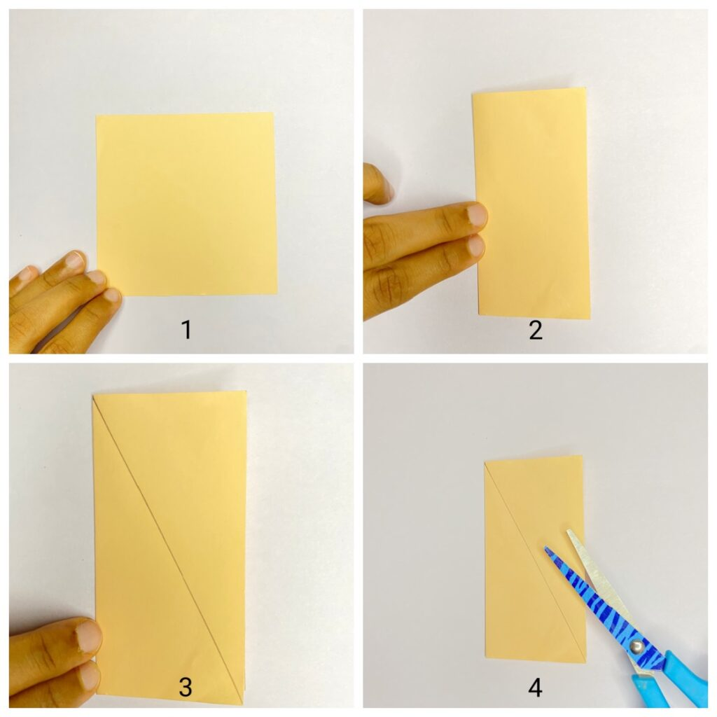 How to make paper leaf step-by-step