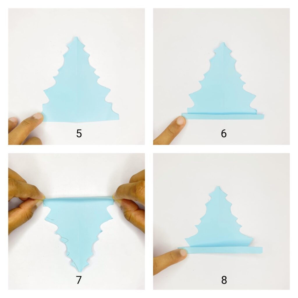 how to make paper leaf step-by-step tutorial