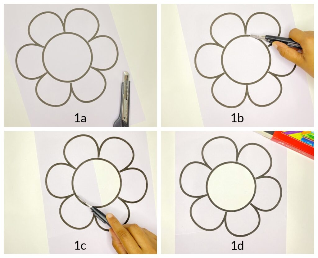 easy tissue paper suncatcher craft for kids step-by-step tutorial