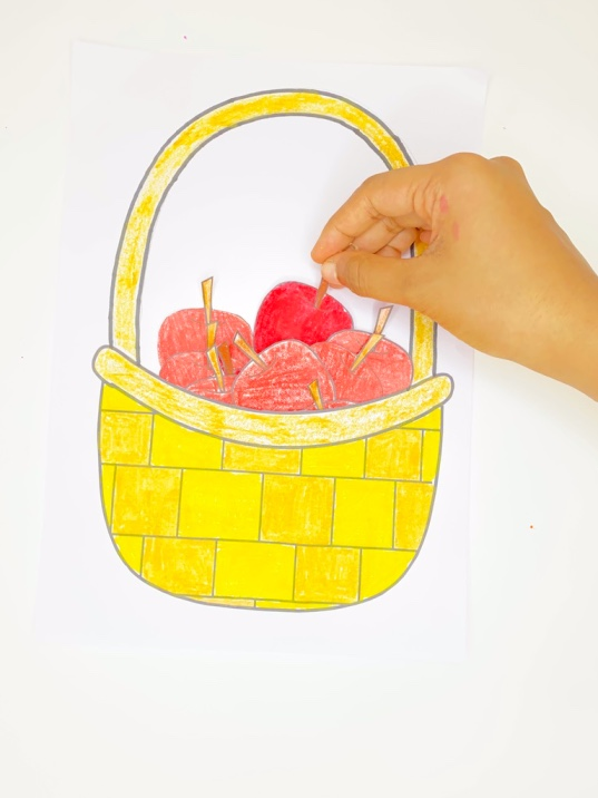 fall apple picking activity craft for kids