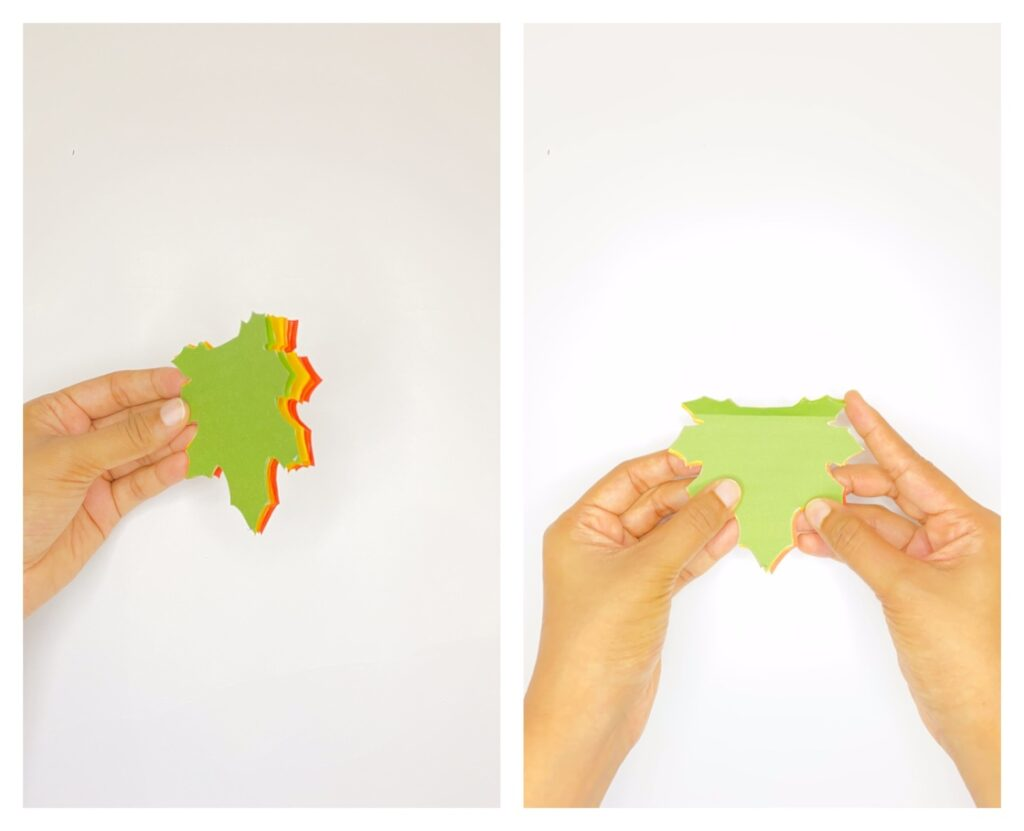 Easy fall leaf craft for kids