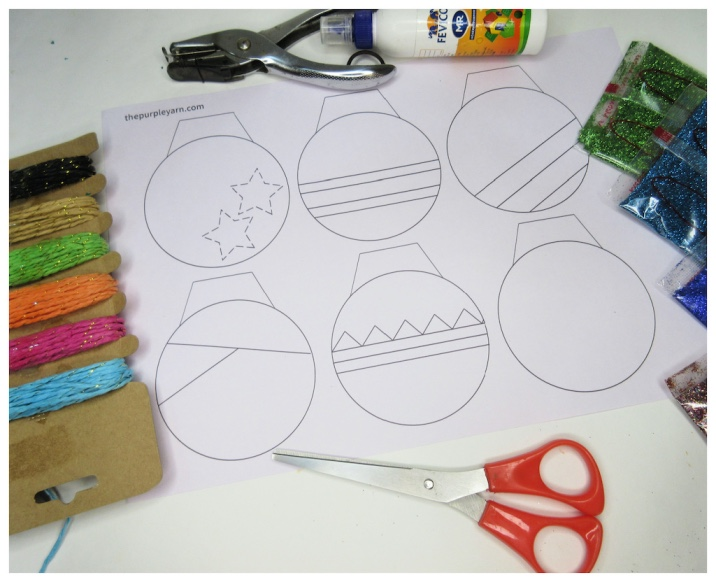 Jingle bell crafts for preschoolers with free template